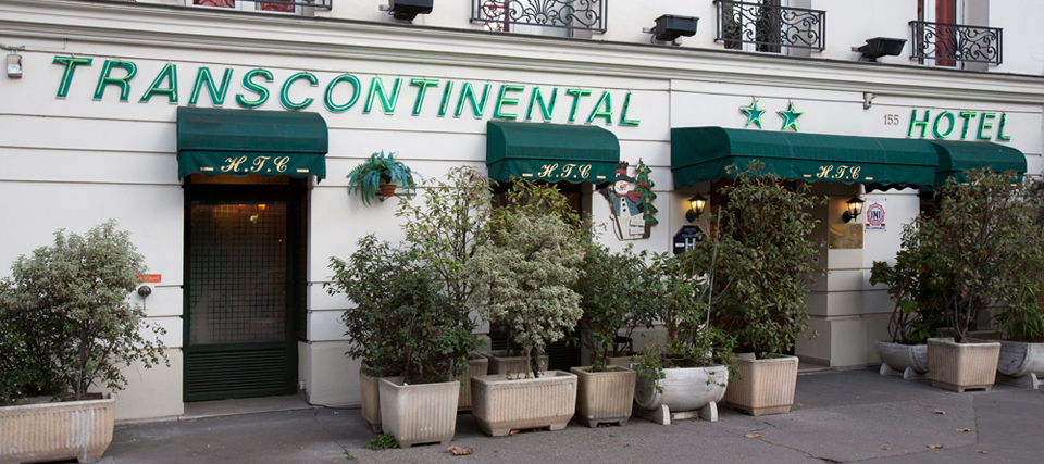 Hotel Transcontinental - A quiet, cosy hotel